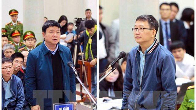 """Ngày xét xử thứ 2: Trịnh Xuân Thanh nói coi cấp dưới như em ruột, ông Thăng nhận sai vì """"quá quyết liệt"""""""
