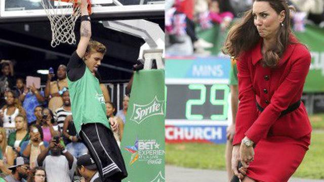 Cười vỡ bụng khi các Sao thế giới chơi thể thao