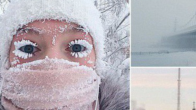 Ngôi làng lạnh nhất thế giới - chạm ngưỡng kỷ lục, nhiệt kế vỡ tung vì quá lạnh