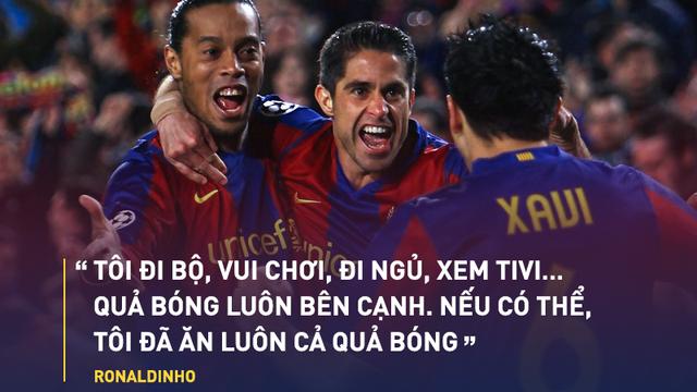 """Ronaldinho: Gã xấu trai một mình xóa sổ """"Dải ngân hà"""" Real Madrid"""