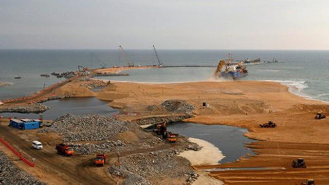 Hiểm họa từ cơn khát cát ở châu Á