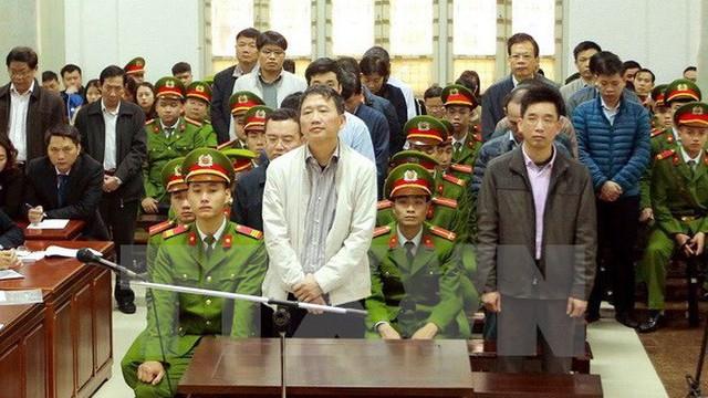 Tổng hợp mức án vụ xử ông Đinh La Thăng, nhiều bị cáo được trả tự do ngay tại tòa