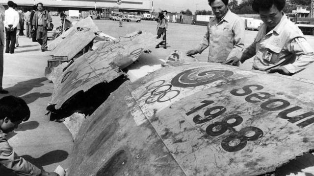 Máy bay Hàn Quốc nổ tung, 115 người chết và câu chuyện li kỳ về nữ điệp viên Triều Tiên