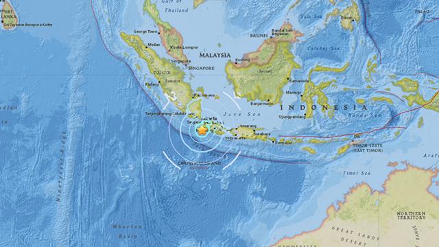Indonesia: Thủ đô Jakarta rung chuyển vì động đất mạnh 6,4 độ Richter