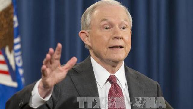 Bộ trưởng Tư pháp Mỹ bị chất vấn liên quan nghi vấn Nga can thiệp bầu cử