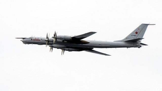Tập trận, binh sỹ Mỹ kinh ngạc thấy máy bay ném bom Nga lượn trên đầu