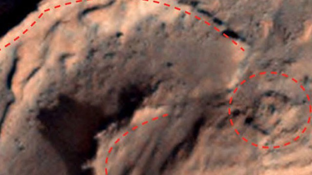 Cấu trúc cổ nghi là bằng chứng của nền văn mình cổ đại trên sao Hỏa