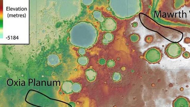 Có sự sống ngoài trái đất ở Oxia Planum - Sao Hỏa?