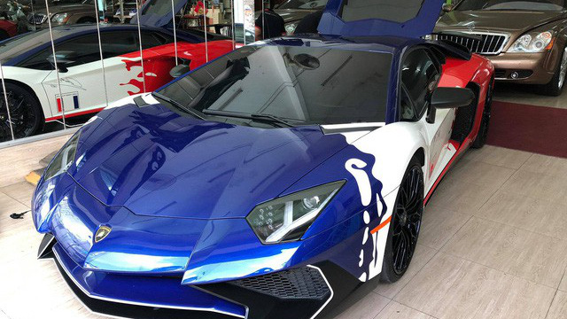 Sieu Xe Lamborghini Aventador Minh Nhựa Ban Lamborghini Aventador