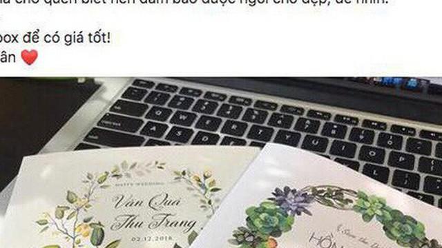 """Khổ chủ lên mạng """"pass"""" lại thiệp cưới vì... nhiều quá đi không xuể, cô dâu chú rể biết được liền phản ứng thế này!"""
