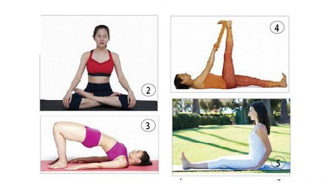 5 bài tập đơn giản đẩy lui chóng mặt