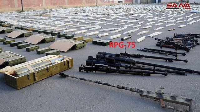 Quân đội Syria lại thu giữ tên lửa chống tăng TOW ở miền nam Syria