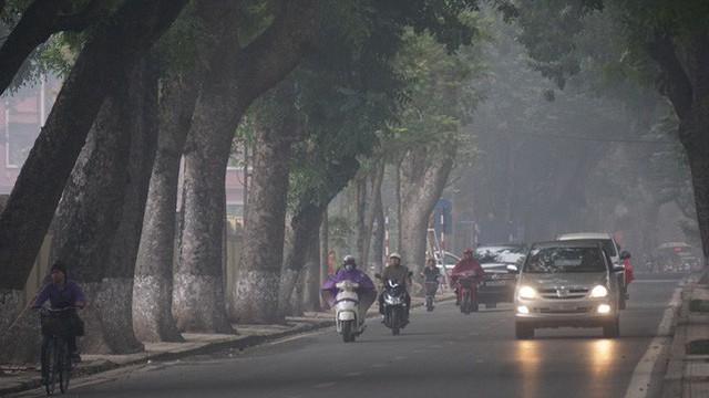 Mưa rét giúp chất lượng không khí Hà Nội đang ở mức tốt nhất