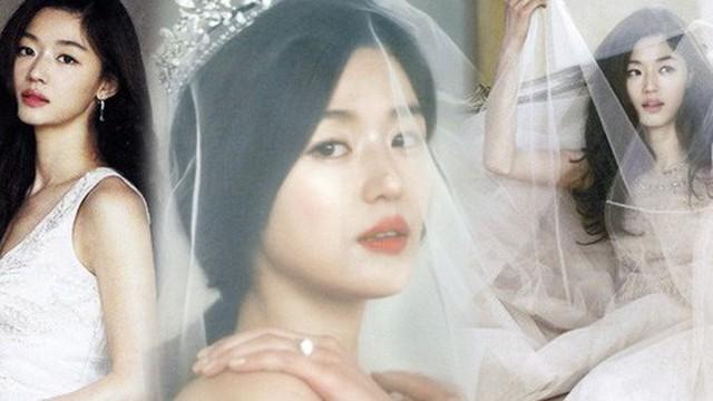 """Ảnh cưới """"mợ chảnh"""" Jeon Ji Hyun gây sốt sau 6 năm: Huyền thoại nhan sắc đỉnh nhất là đây!"""