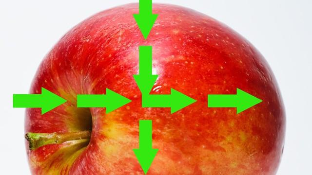 """Sự thật: Hóa ra bấy lâu nay chúng ta đều ăn táo """"sai cách"""""""