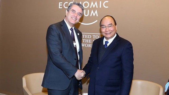 Thủ tướng Nguyễn Xuân Phúc dự WEF: Đột phá để ứng phó biến đổi khí hậu