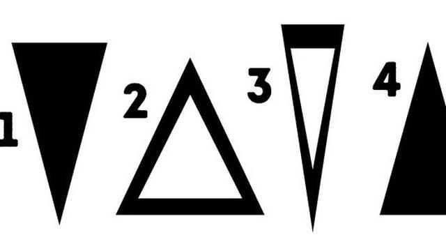Lựa chọn 1 trong 5 hình tam giác này có thể tiết lộ nội lực tuyệt vời ẩn trong bạn bấy lâu