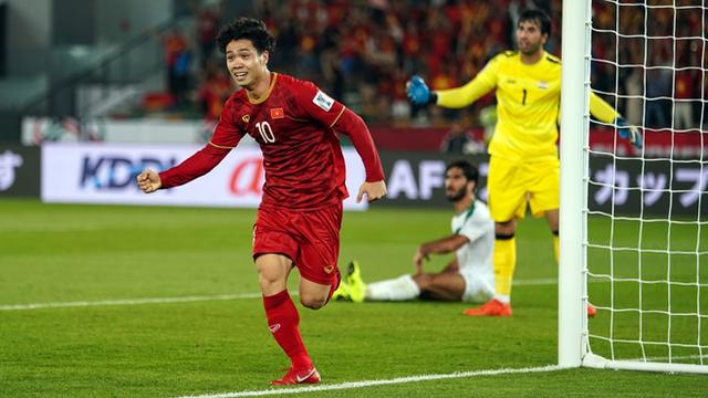 Bàn thắng của Công Phượng xếp cao nhất trong clip phần 1 tổng hợp siêu phẩm Asian Cup 2019