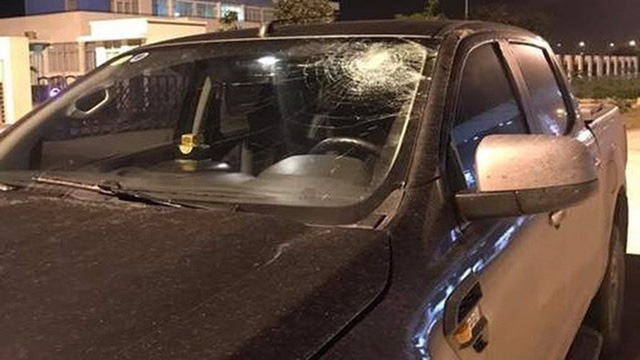 Xác định đối tượng ném vỡ kính ôtô trên cao tốc Hà Nội - Hải Phòng