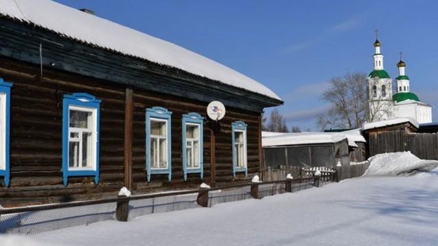 Ảnh: Cuộc sống tại một ngôi làng ở xứ Siberia lạnh cóng của nước Nga