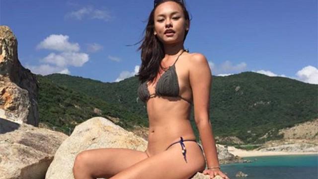 Loạt ảnh bikini gợi cảm của Mai Ngô