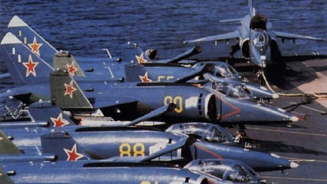[ẢNH] Nhìn lại vụ tiêm kích hạm siêu độc đáo của Liên Xô rơi ngoài khơi Việt Nam