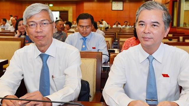 Ông Võ Văn Hoan và ông Ngô Minh Châu làm Phó Chủ tịch UBND TPHCM