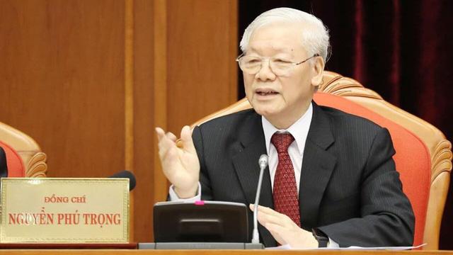 Tổng Bí thư, Chủ tịch nước Nguyễn Phú Trọng phát biểu khai mạc Hội nghị Trung ương