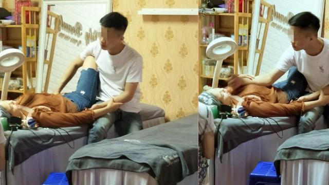 Bạn gái nằm trên bàn xăm môi, chàng trai có hành động trong 4 tiếng khiến ai cũng ghen tỵ