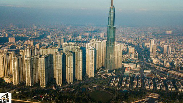 CLIP: Toàn cảnh tòa nhà cao nhất Việt Nam trị giá khoảng 1,4 tỷ USD chào đón 2019