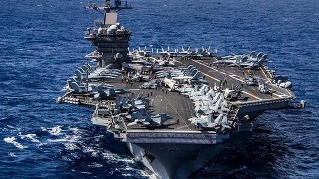 """Sức mạnh """"bất khả xâm phạm"""" của những tàu sân bay Mỹ điều tới Biển Đông trong năm 2018"""