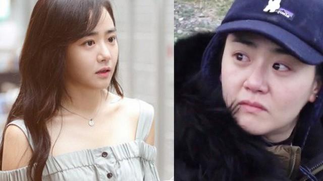 Moon Geun Young tăng cân và già nua sau thời gian vắng bóng