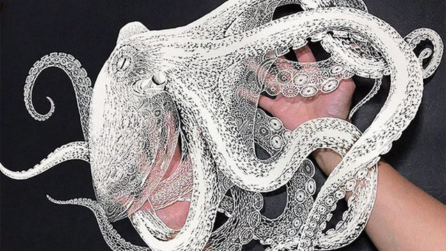 Có thể bạn không tin nhưng đây là những tác phẩm cắt giấy tỉ mỉ tới từng milimet của nghệ nhân người Nhật