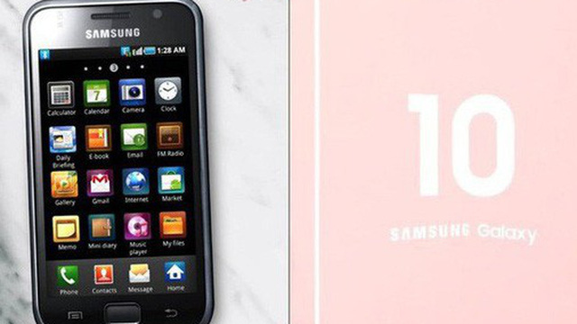 """Đến Samsung cũng """"đu trend"""" 10 Years Challenge để quảng cáo chiếc smartphone màn hình gập sắp tới"""