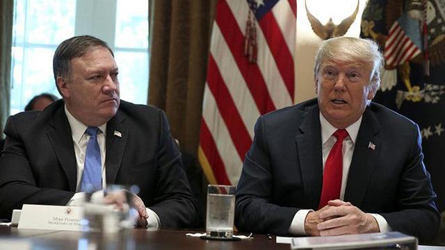 Ngoại trưởng Pompeo tính 'rời xa' Tổng thống Trump