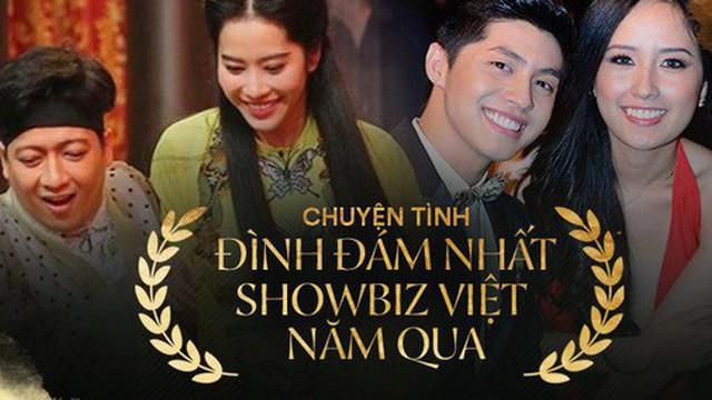 Những chuyện tình đình đám của showbiz Việt năm qua: Toàn gay cấn và thị phi, cặp đôi cuối gây bất ngờ nhất