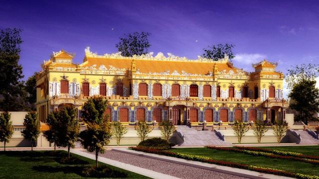 Chi 123 tỷ đồng trùng tu cung điện nguy nga trong Đại Nội Huế