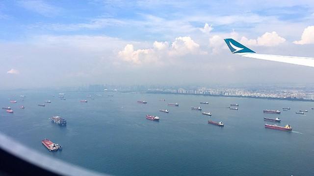 Eo biển Singapore - tấm gương phản chiếu 'sức khỏe' kinh tế toàn cầu