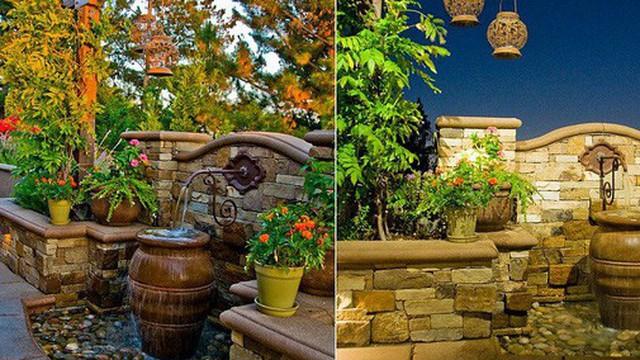 Với điểm nhấn này trong thiết kế sân vườn, cả ngôi nhà của bạn bỗng hóa thành ngôi nhà cổ tích trong chớp mắt