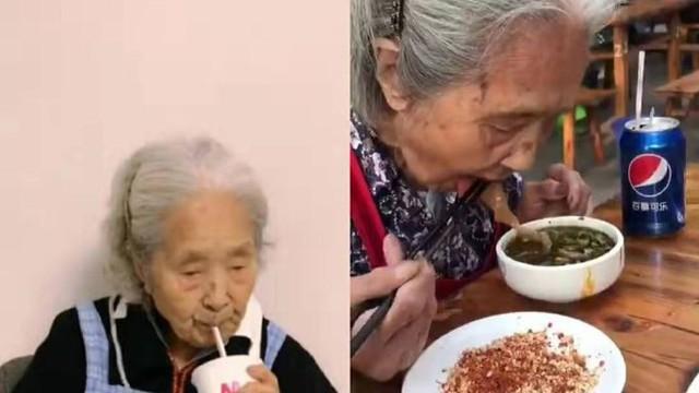 Cụ bà 98 tuổi nổi tiếng mạng xã hội vì ăn uống vô tư như giới trẻ