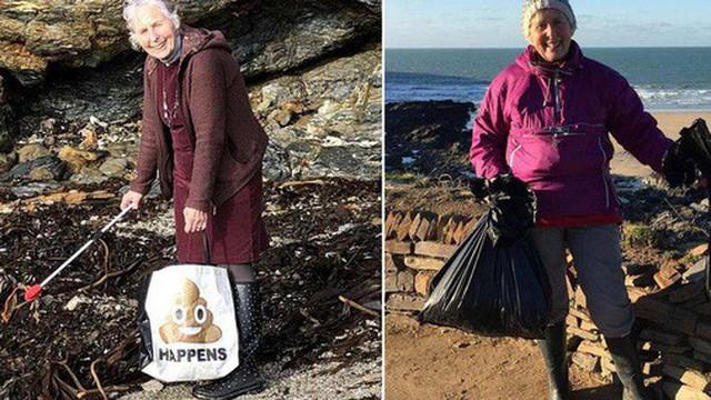 Cụ bà 70 tuổi dọn sạch 52 bãi biển trong 1 năm: Không bao giờ là quá muộn để cứu lấy hành tinh này