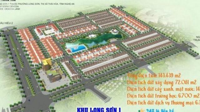 Dự án nghìn tỷ 'đắp chiếu', Cienco 4 lại được giao thêm hàng trăm nghìn m2 đất tại Nghệ An