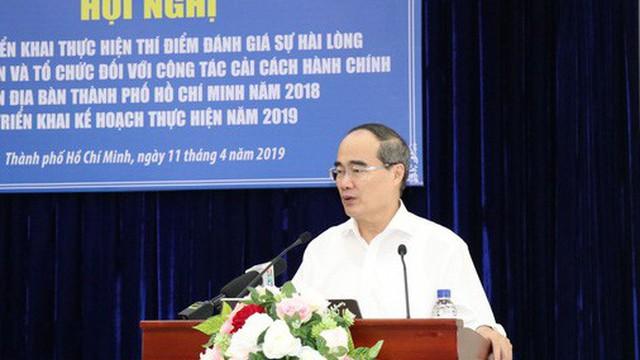 Bí thư Thành ủy TP HCM: Khảo sát sự hài lòng bắt buộc phải đối chiếu!