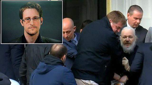 Cựu điệp viên Mỹ Edward Snowden nói về việc bắt giữ Assange