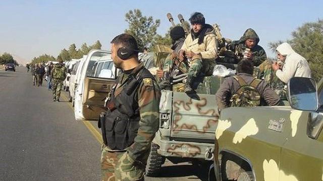 Chưa rõ lý do đoàn xe SAA biến mất dọc đường cao tốc Palmyra-Deir Ezzor