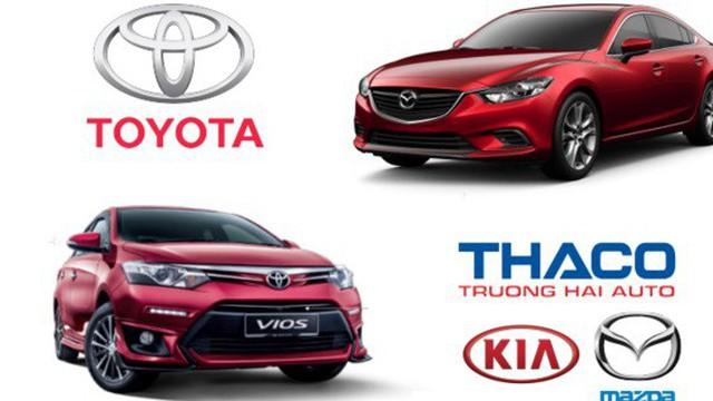 """Thaco sụt giảm thị phần ô tô, nhường """"ngôi đầu"""" cho Toyota"""