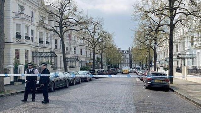 Anh: Xảy ra nổ súng gần đại sứ quán Ukraine tại London