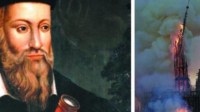 Vụ cháy Nhà thờ Đức Bà từng được tiên tri cách đây hơn 400 năm trước