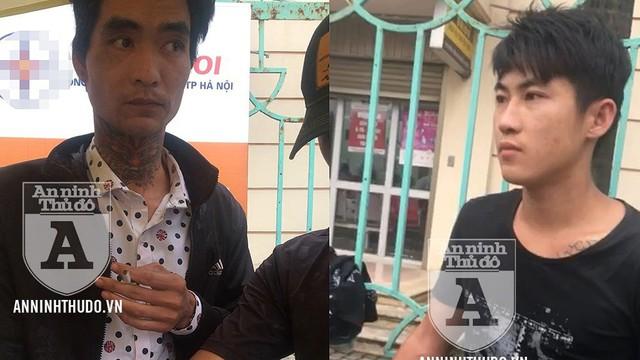 Phi tang ma túy bất thành, 2 kẻ xăm trổ bị khóa tay tại chỗ