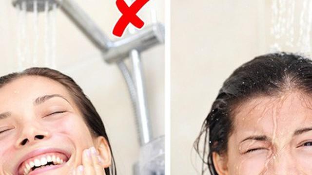10 sai lầm ai cũng mắc phải khi tắm